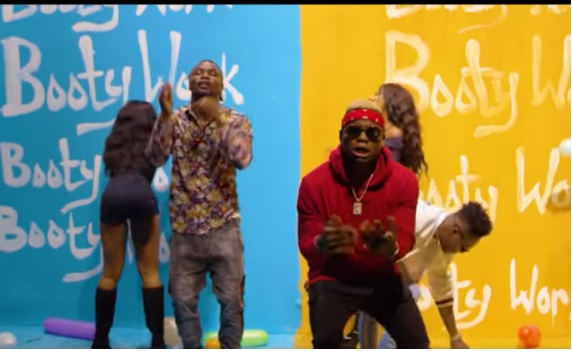 (OFFICIAL VIDEO) Young D ft Harmonize & Reekado Banks - BOOTY WORK mp4 Download