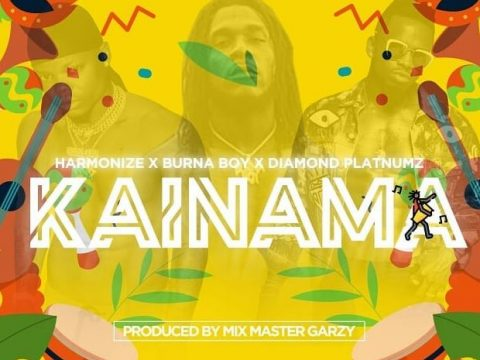 (3.40MB AUDIO) Harmonize ft Diamond Platnumz & Burna Boy - KAINAMA mp3 Download