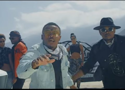 (OFFICIAL VIDEO) Ommy Dimpoz ft Alikiba & Cheed - ROCKSTAR mp4 Download