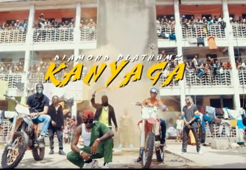 (OFFICIAL VIDEO)Diamond Platnumz – KANYAGA mp4 Download