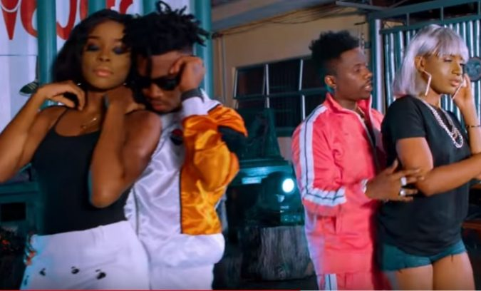 (OFFICIAL VIDEO) Rayvanny ft Mayorkun – GIMI DAT