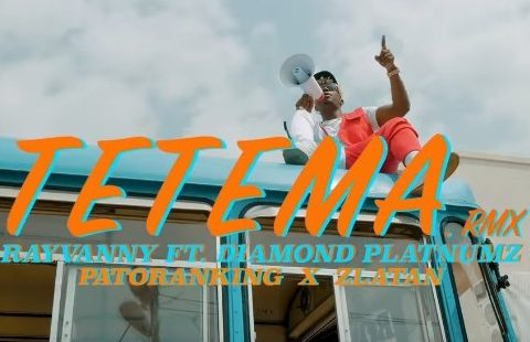 (OFFICIAL VIDEO) Rayvanny Ft Patoranking, Zlatan & Diamond Platnumz - TETEMA REMIX