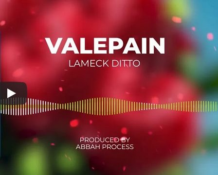 (3.30MB AUDIO) Lameck Ditto - VALEPAIN