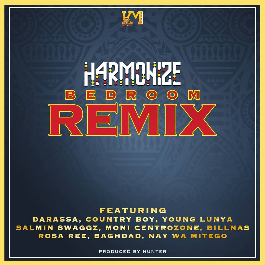 (5.0MB AUDIO) Harmonize ft Darassa,Country Boy,Young Lunya,Salmin Swaggz,Moni Centrozone,Billnas,Rosa Ree, Baghdad,Nay wa mitego – BEDROOM Remix