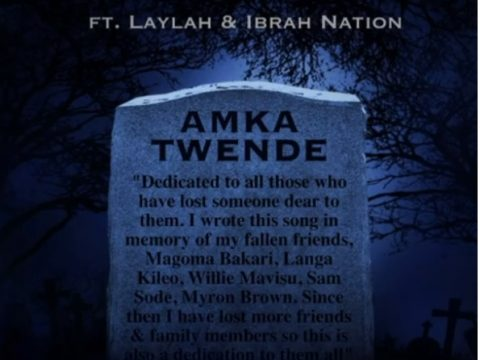 (4.0MB AUDIO) WAKAZI FT LAYLAH & IBRAH NATION - AMKA TWENDE