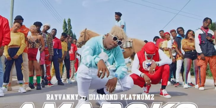 (OFFICIAL VIDEO) Rayvanny ft Diamond Platnumz – AMABOKO