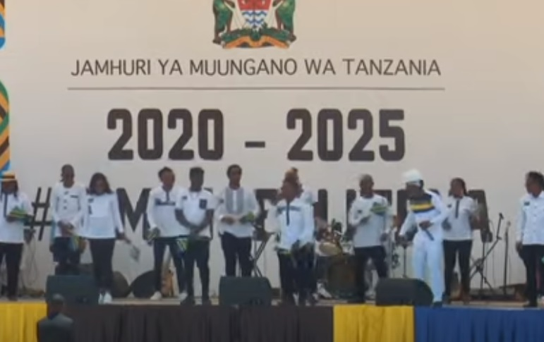 (OFFICIAL VIDEO) Tanzania All Stars - MAGUFULI 5 TENA